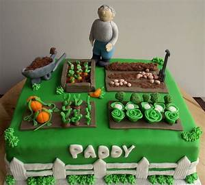 Vegetable garden cake funny farm pinterest for Vegetable garden cake ideas