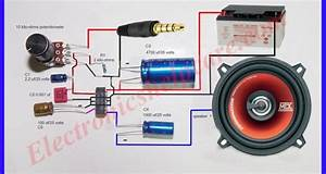 How To Make Turbo Bass For Amplifier Circuit Diagram