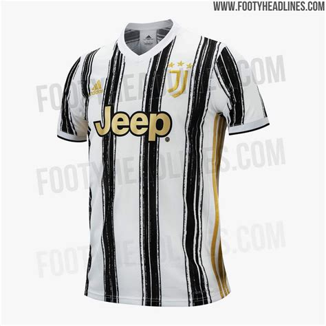 UPDATE: Juventus 20-21 Home Kit + Away & Third Colors ...
