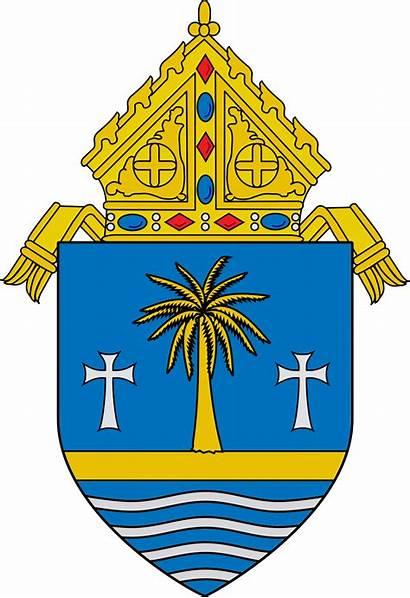 Miami Archdiocese Catholic Roman Svg Coat Arms