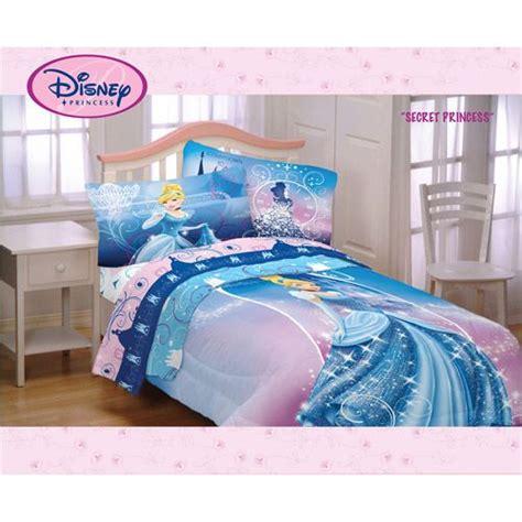 disney cinderella secret princess twinfull comforter