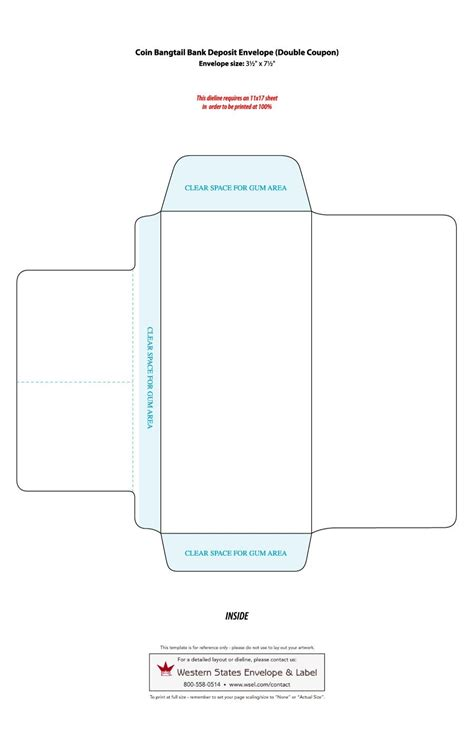 envelope templates word  template lab