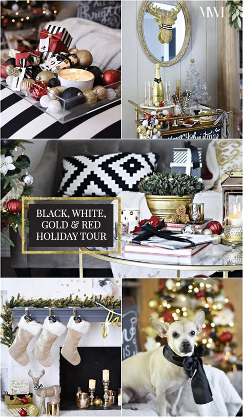 black white diy abstract art tutorial holiday