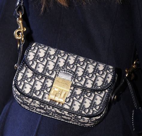 diors fall  runway bags   black  navy blue purseblog