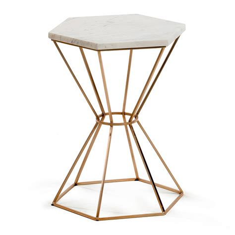 small side coffee tables limit small side table in marble and copper side