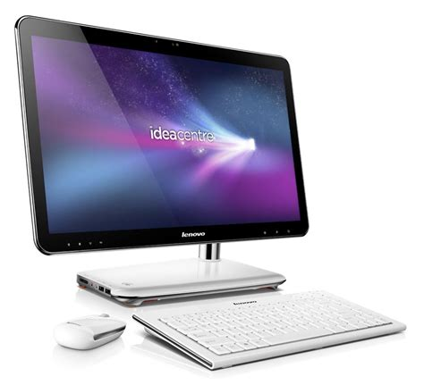 ordinateur bureau tout en un high tech lenovo ideacentre a310 un ordinateur de bureau