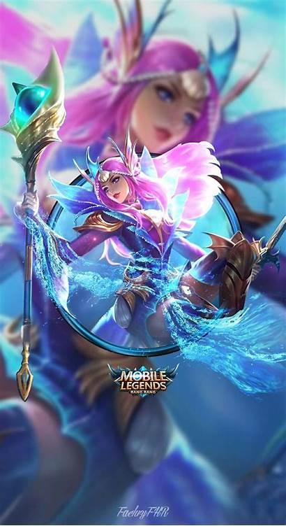 Odette Legends Mobile Wallpapers Mermaid Princess Legend