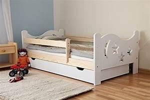 Günstige Kinderbetten Mit Matratze : arbox massivholz kinderbett mit rausfallschutz kinderzimmer ~ Bigdaddyawards.com Haus und Dekorationen