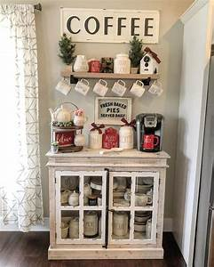 Coffee, Corner, Ideas, For, The, Home, U2013, In, A, Farmhouse, Style