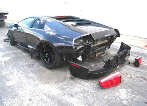 crashed lamborghini for sale wrecked damaged salvage rebuildable ferrari cars for sale