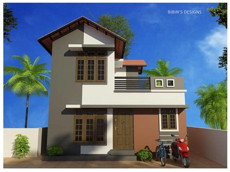 Home Design 800 : 800 Square Feet 2 Bedroom Low Budget Kerala Style Home