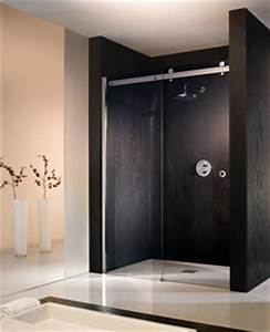 portes de douches portes de douches coulissantes With porte de douche coulissante avec enceinte salle de bain bose