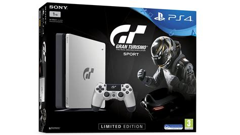 grand turismo ps4 sony reveals limited edition gran turismo sport ps4
