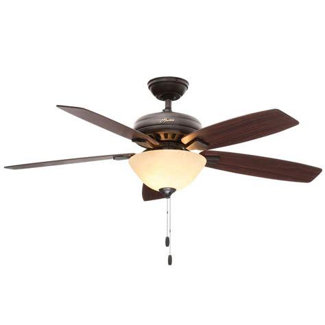 Hunter Banyan Indoor New Bronze Ceiling Fan With