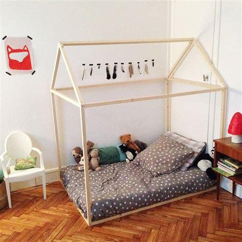 cabane pour chambre diy un lit cabane mon tuto zaza home