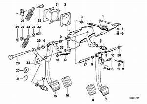 Bmw 325e Bush Bearing  Pedal  Pedals  Brake