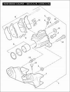 2007 Harley 883 Sportster Engine Parts Diagram