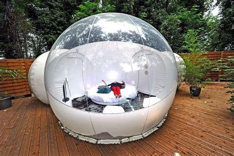 chambre bulle dans la nature dormir dans une bulle un retour à la nature tout confort