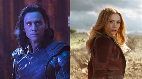 Loki And Scarlet Witch Reportedly Getting Tv Shows On