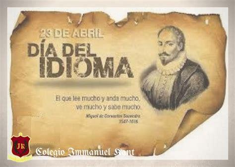 23 de Abril «Día del Idioma» - Colegio Secundario