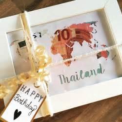 hochzeitsgeschenke verpacken ideen geldgeschenk kreativ verpacken geburtstagsgeschenk reise weltreise geschenk plotter geld