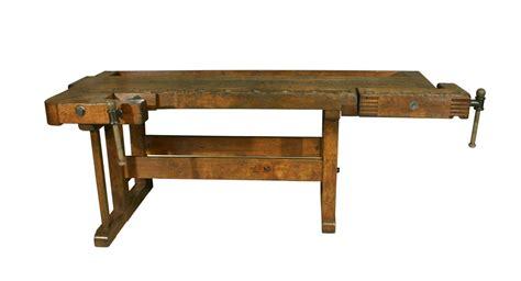antique woodworking workbench  stdibs