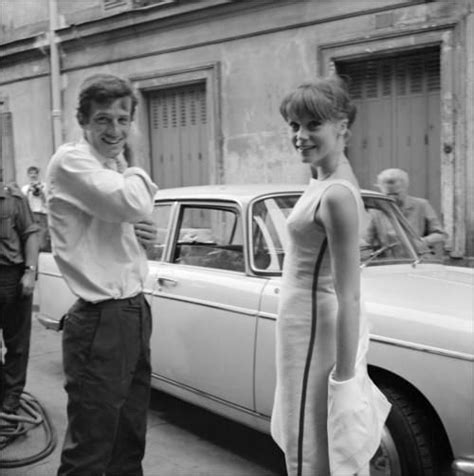 francoise dorleac belmondo francoise dorl 233 ac and jean paul belmondo on shooting of l