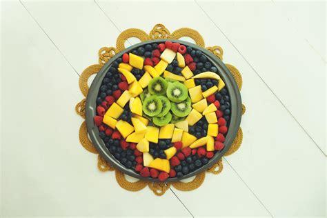 Star Of David Hanukkah Fruit Tray