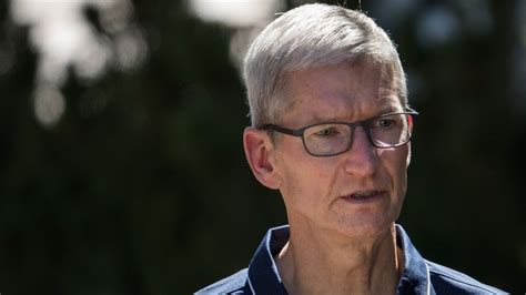 Apple Boss Tim Cook Joins Donald Trump Condemnation