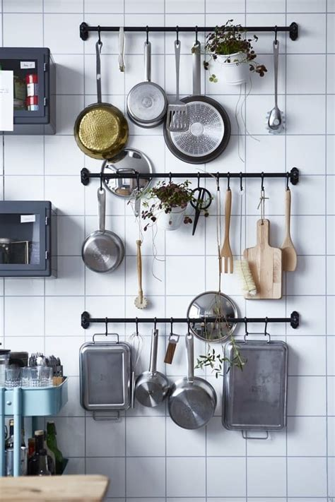 25 best ideas about hanging pots kitchen on hanging pots pot rack hanging and pot