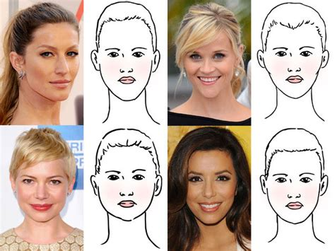 hairstyles  face shape find  works   todaycom