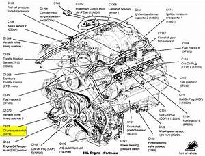 Where Is The Oil Temperature Sensor Located On A 2003