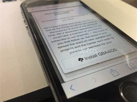 Gba4ios 2.1 Game Boy Advance Emulator On Ios 10