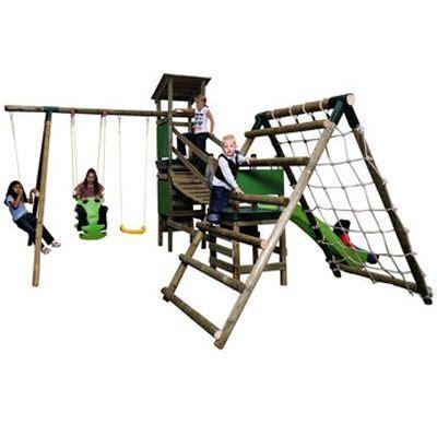 tikes marlow climb n slide swing set the