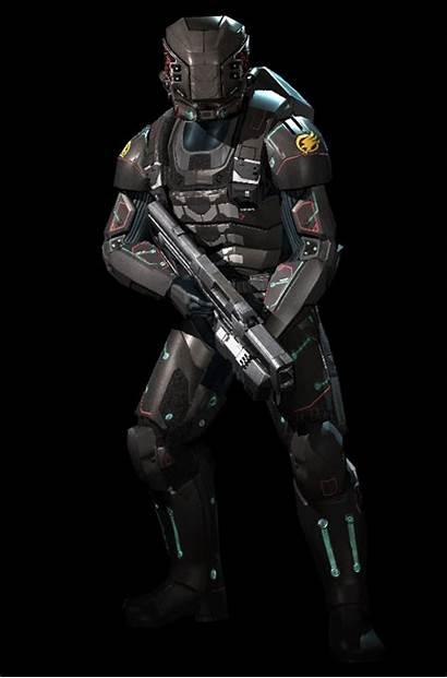 Suit Armor Combat Armour Unit Integrated Command