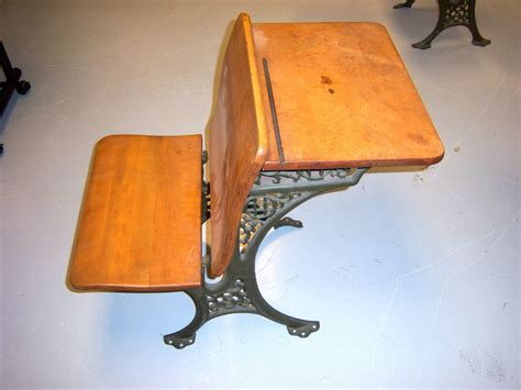 ebay desks for sale antique cast iron and wood desk mint condition ebay