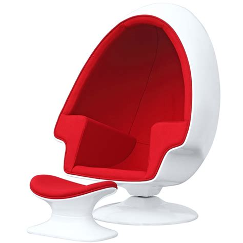 home design furniture alpha egg chair and ottoman