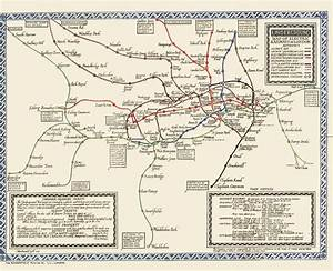 London Icon  A History Of Harry Beck U0026 39 S Iconic Tube Map