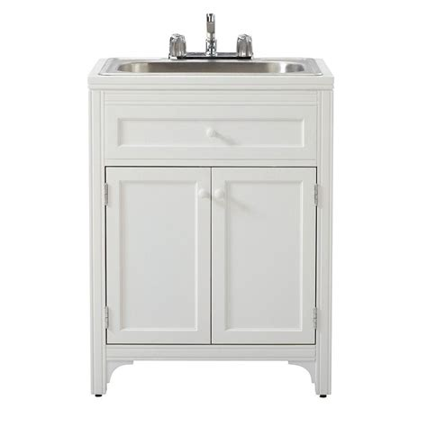 Utility Sink In Cabinet martha stewart living 36 in h x 27 in w x 24 in d wood
