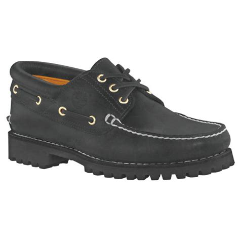 Timberland Classic Lug Boat Shoes In Black by S Timberland 174 3 Eye Classic Lug Shoes Timberland Us