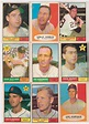 9 Different 1961 Topps Baseball Cards