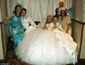 tacky and spectacularly ott but steeped in traditional With tacky wedding dress