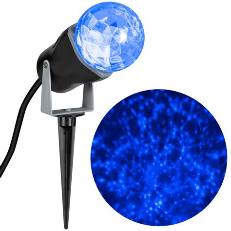 holiday light projector lowes shop gemmy 1 piece 0 85 ft lightshow projection stake