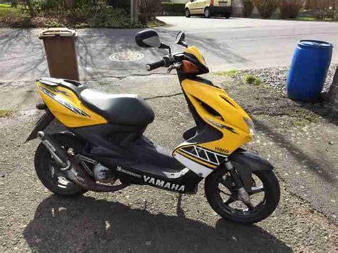 yamaha aerox motorroller roller mofa moped gelb bestes
