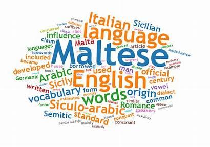 Language Maltese Malta Languages Spoken Words