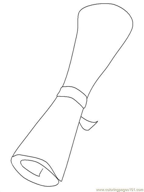 diploma coloring page  school coloring pages
