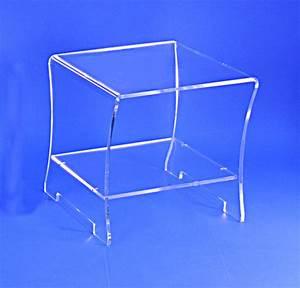 Table De Chevet Transparente : table de chevet plexiglass ~ Melissatoandfro.com Idées de Décoration