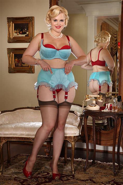 vintage garter belts for sale push up bras retro blue plunge bra