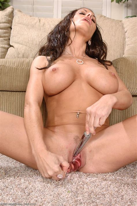 victoria valentino and her favorite glassy dildo free