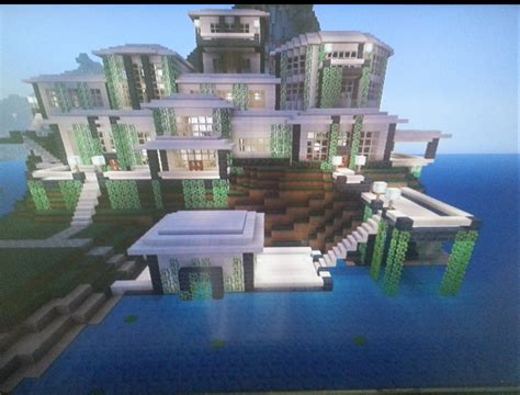 pictures modern mansion modern mansion with boathouse mcx360 show your creation